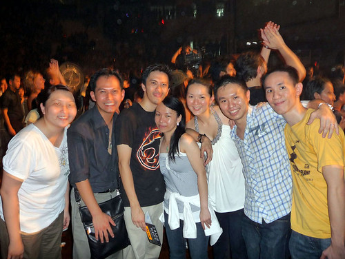 Jason Mraz in KL concert - 08 group
