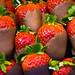 Chocolate-Coated Strawberries