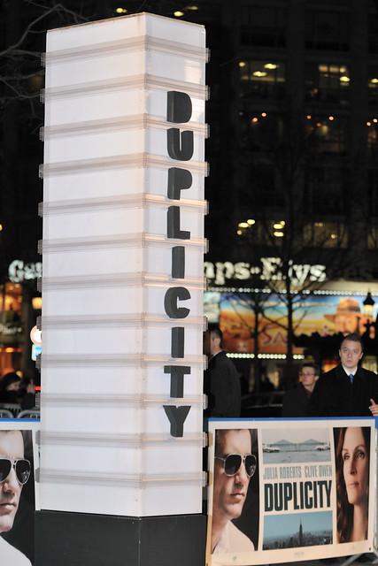 Julia Roberts & Clive Owen a l'Avant Premiere du film Duplicity by nicogenin