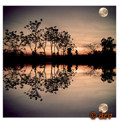 LOVE REPOSTED (DEVENDRA PAL(AWAY)) Tags: sunset sky sun moon black reflection art classic beach nature water silhouette yellow reflections photography bravo group offer vision moonlight mothernature devendra worldbest thesuperbmasterpiece cinecraft goldenart creativeyeuniverse theoriginalgoldsea