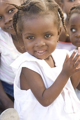 What If She's An Angel (Timhaiti) Tags: cute girl beautiful smile canon hair haiti child singing christian digitalrebel clap braid sundayschool haitian xti timhaiti
