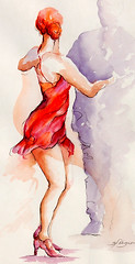 lady in red (segismundoart) Tags: red motion art lady watercolor dance movement dancers dancing fineart performance dancer grace ballroom gerardo segismundo femaledancer segismundoart gerrysegismundo gerardosegismundo segiart dancervertical gerardosigismund gerrysigismundgerrysegismundo