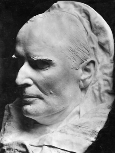 President William McKinley's death mask