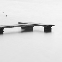 ^ (David Michel) Tags: sea lake water contrast landscape key eau noir lac paysage 18200 blanc minimalist vr ponton kenna d300 hight
