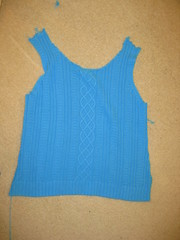 separated vest (Nats Umi) Tags: yarn unraveling