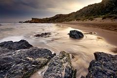 luz del mar (SanchezCastillejo) Tags: sea atardecer mar sony jose murcia antonio playas sanchez a700 castillejo percheles alpha700 vosplusbellesphotos