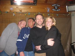 Cathie and Dave with Eli and Brad