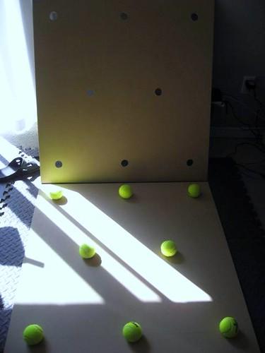 tennis ball drum riser instructions