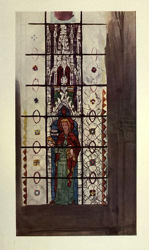 014- St. Barnabas- Triforio de la nave de San Pedro- Chartres principios siglo XIV