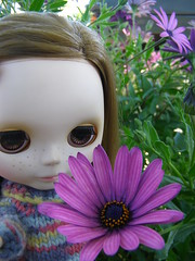 Minerva y su flor