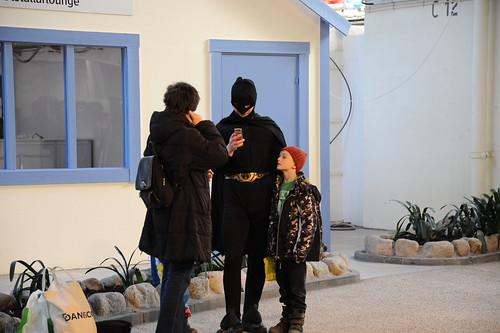 お父さんはバットマン
