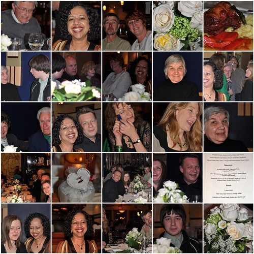 Wedding Celebration Dinner Mosaic 3