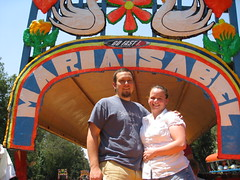 Dennis and Janell at Xochimilco