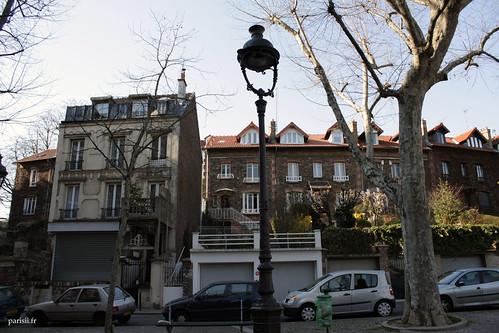 La campagne à Paris, coté boulevard Mortier