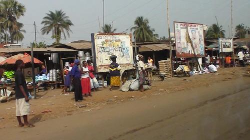 Liberia mercado callejero