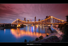 The Red and the Black ([ Kane ]) Tags: bridge light red black water australia brisbane explore qld kane tabacco thevalley cokin storeybridge longexp gledhill 50d alemdagqualityonlyclub kanegledhill humanhabits kanegledhillphotography