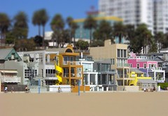 Santa Monica / tilt shift (patrick.swinnea) Tags: california beach la miniature losangeles model santamonica fake condos tiltshift tiltshiftmakercom