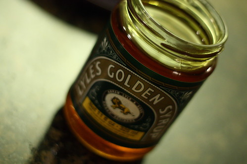 Spotted Dick and Lyle's Golden Syrup