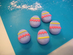 Easter cupcake decorations