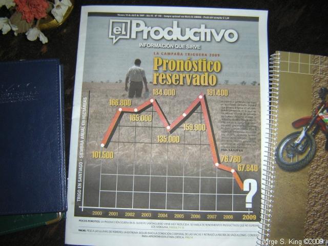 Pronóstico Triguero