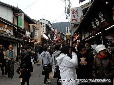 Many tourists and Japanese alike were shrine visiting like us