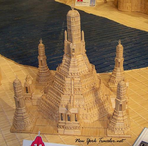 Wat Arun toothpicks