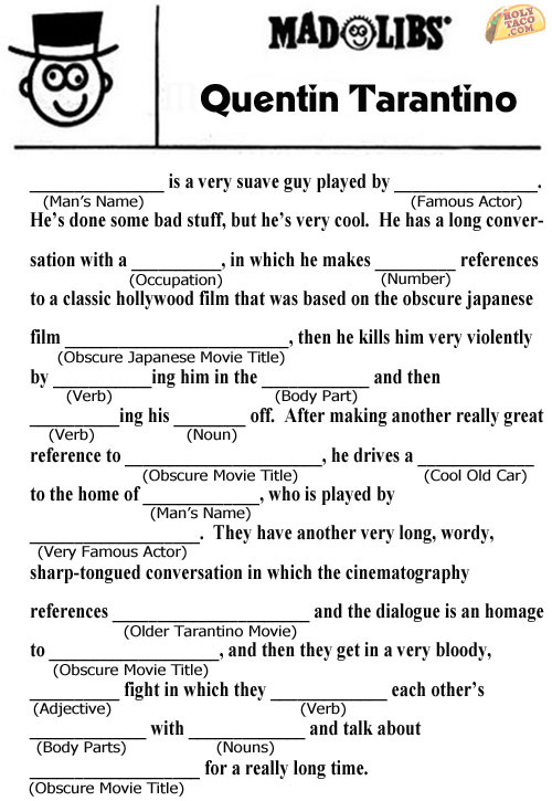 Mature mad libs consider, that