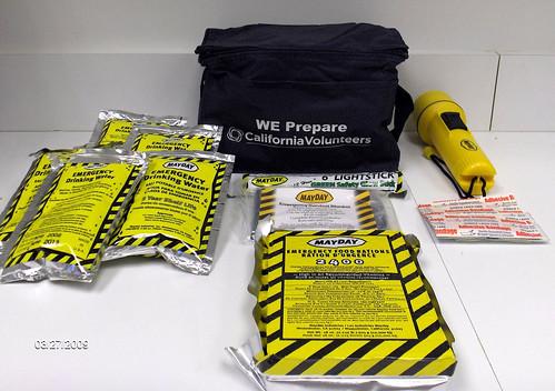 Diaster Kit Giveaway
