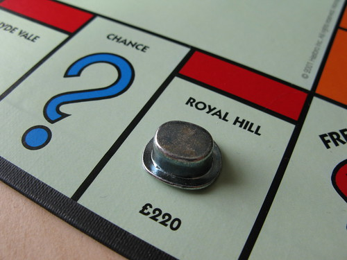 Royal Hill - Greenwich Monopoly
