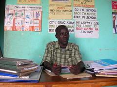 Headmaster (MaishaElonai) Tags: refugee uganda pabo idp pabbo