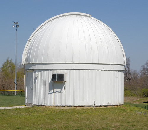 Observatory, at the University of Missouri - Saint Louis, in Normandy, Missouri, USA