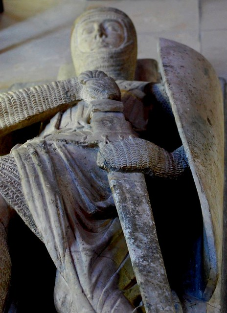 Interred knight