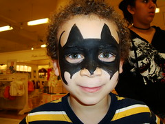 Aidan as Batman
