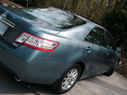Camry Hybrid for Earth Day