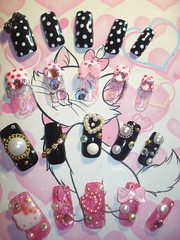 Kawaii Japanese Nail Art Tips (Pinky Anela) Tags: cute colorful nails tips kawaii nailart japanesenails japanesenailart