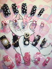 ★Kawaii Japanese Nail Art Tips★ (Pinky Anela) Tags: cute colorful nails tips kawaii nailart japanesenails japanesenailart