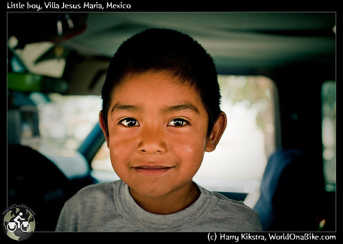 Little boy, Villa Jesus Maria, Mexico por exposedplanet.