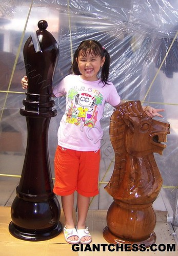 how to make giant chess pieces