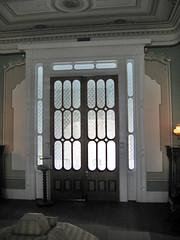 Front door from central hall, Beauvoir, Biloxi, Mississippi (Paul McClure DC) Tags: architecture mississippi historic biloxi antebellum gulfcoast jeffersondavis beauvoir harrisoncounty feb2009