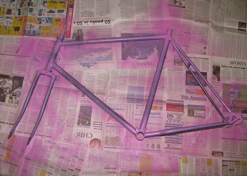 The Schwinn Mesa Runner gets a paint job