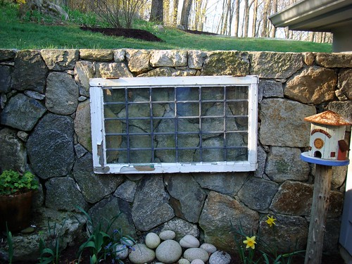 stone wall window