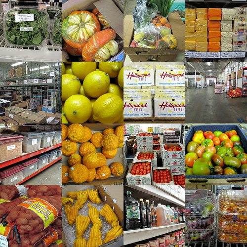 Specialty Produce Collage