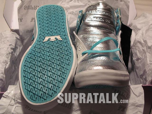 Supra Skytop 413 Active Teal  Silver - Supratalkcom by Supratalk