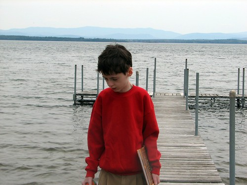 Peter on the dock