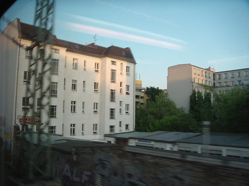 Train from Rüdescheim to Berlin