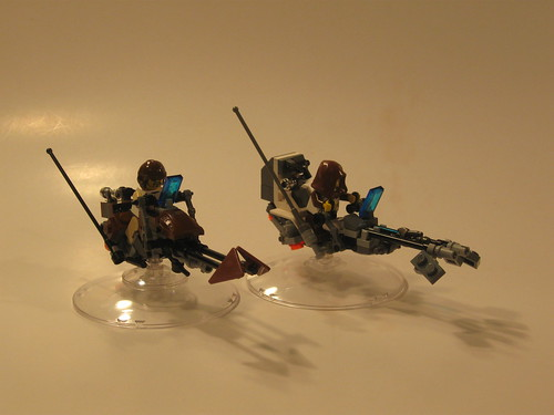 how to build easy lego star wars speeder bike