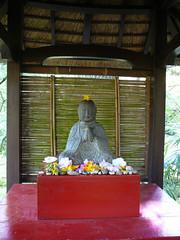 Zen moment in Japanese Garden