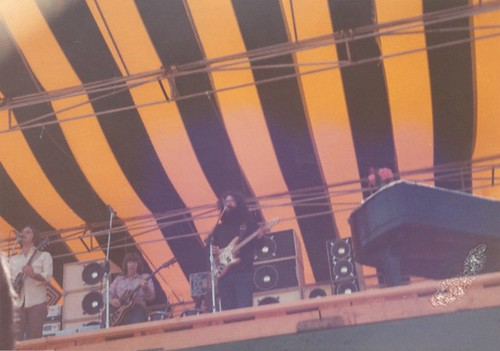 Grateful Dead on 5/26/73 at Kezar Stadium in Golden Gate Park, San Francisco [pic by: unknown]