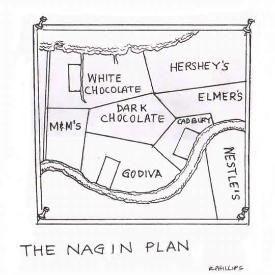 Nagin's Chocolate City Map