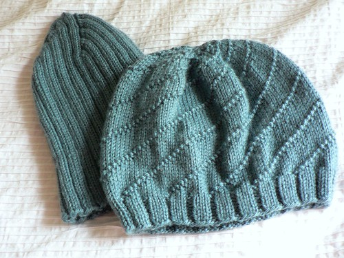 Knitted Hats for Mother & Son